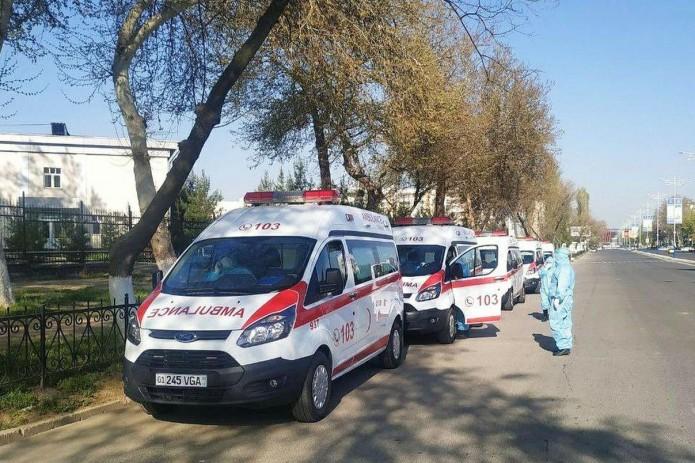 В Узбекистане зафиксировано почти 1200 новых случаев коронавируса и пневмонии