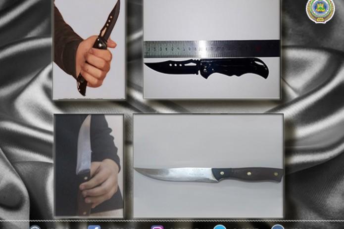 В школу с ножом: правоохранительные органы выявили у школьников холодное оружие