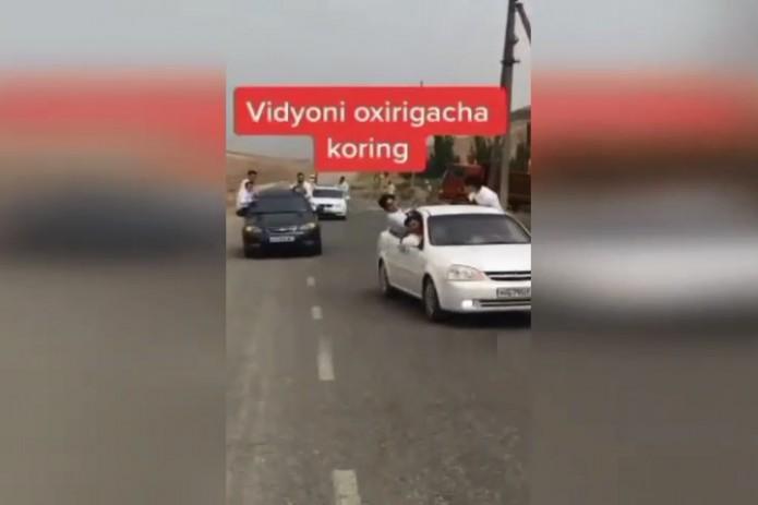 Андижанские выпускники,  высунувшиеся из окон автомобилей, понесут наказание