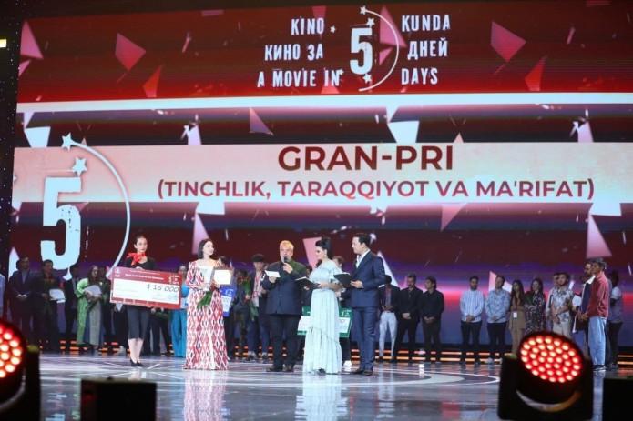 В Ташкенте наградили победителей международного кинофестиваля