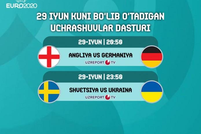 Хорватия проиграла Испании, а Франция вылетела с Евро-2020. Сегодня пройдут матчи Англия – Германия и Швеция - Украина