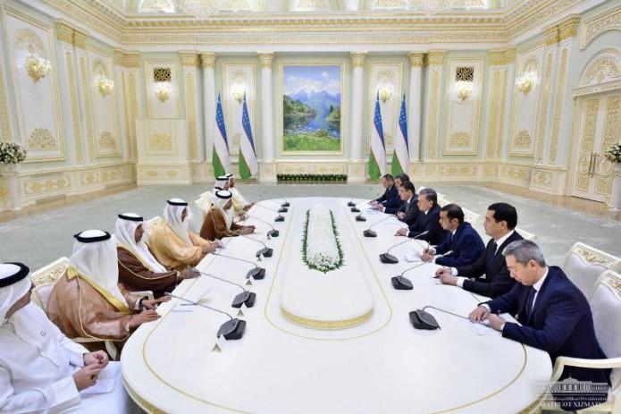 Шавкат Мирзиёев принял делегацию Объединенных Арабских Эмиратов