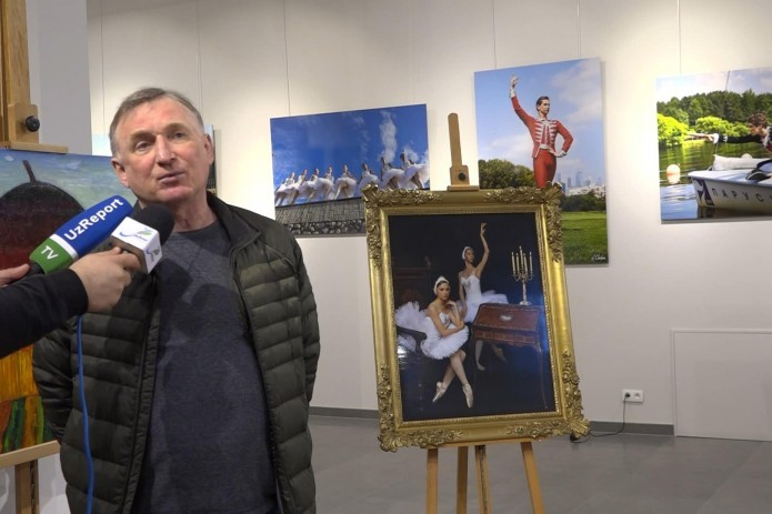 Vladimir Chikin: My dream is to capture Uzbek ballet in my photos