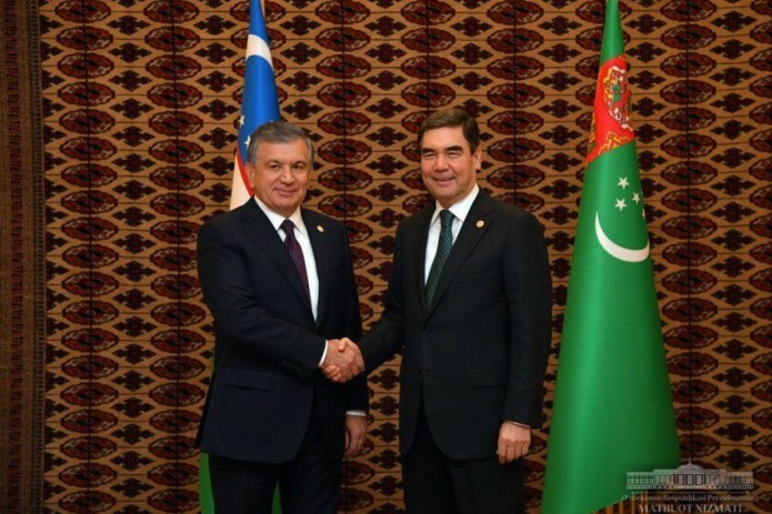 Presidents of Uzbekistan and Turkmenistan hold meeting