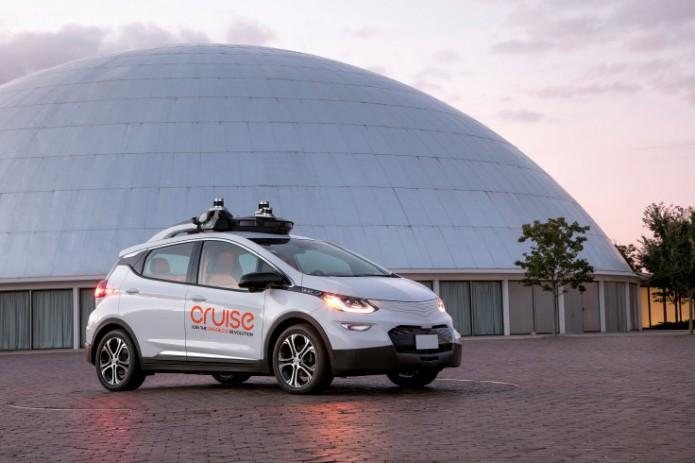 Дженерал моторс создаст сервис беспилотных такси к 2019 году