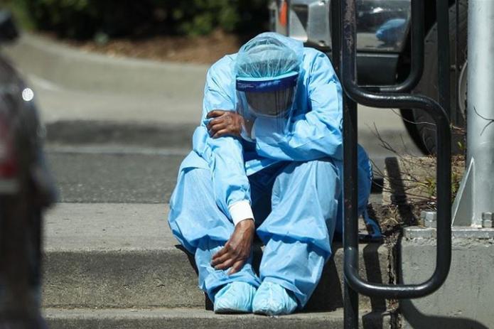 В США четвертые сутки - более 1000 смертей