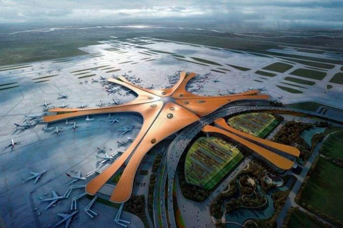 В новом аэропорту Пекина используются технологии Huawei 5G Smart Travel System