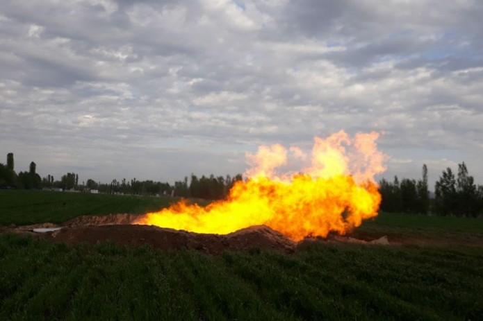 В Андижанской области получили новый промышленный приток природного газа
