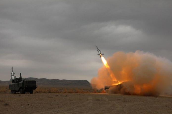 На полигоне «Кулкудук» испытали новые ракеты противовоздушной обороны