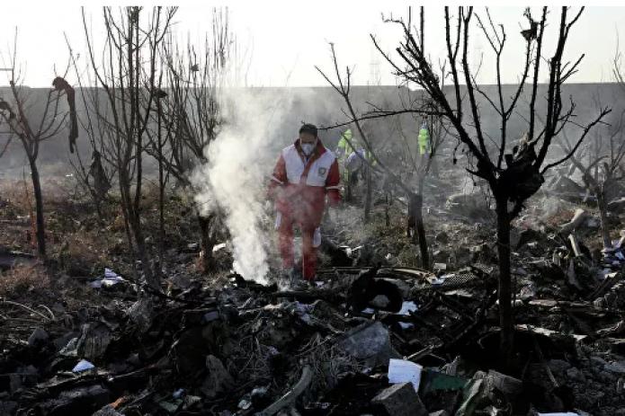 Большинство пассажиров рухнувшего украинского самолета были иранцами