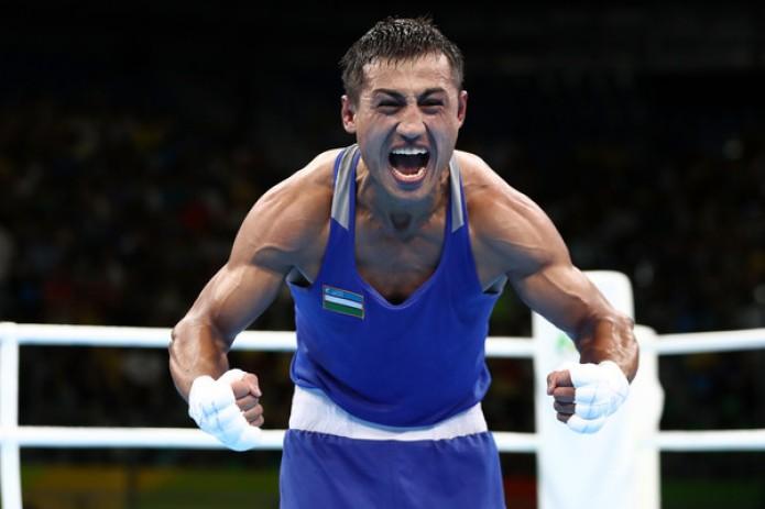 Бокс: Фазлиддин Гаибназаров отправил в нокаут Уилберта Лопеса