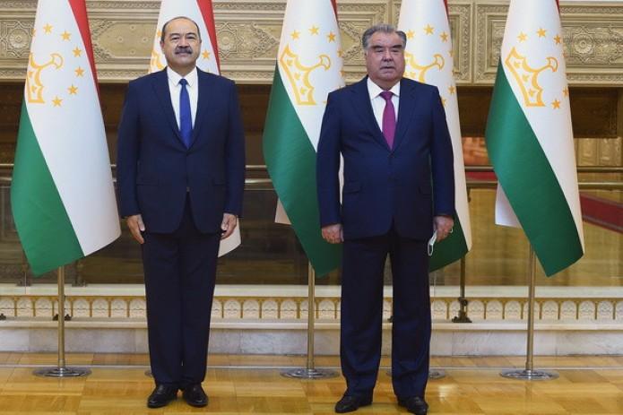 Президент Таджикистана Эмомали Рахмон принял Премьер-министра Узбекистана