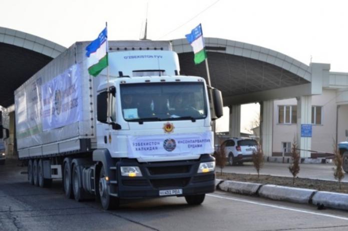 Узбекистан направил в Таджикистан очередную партию гуманитарной помощи