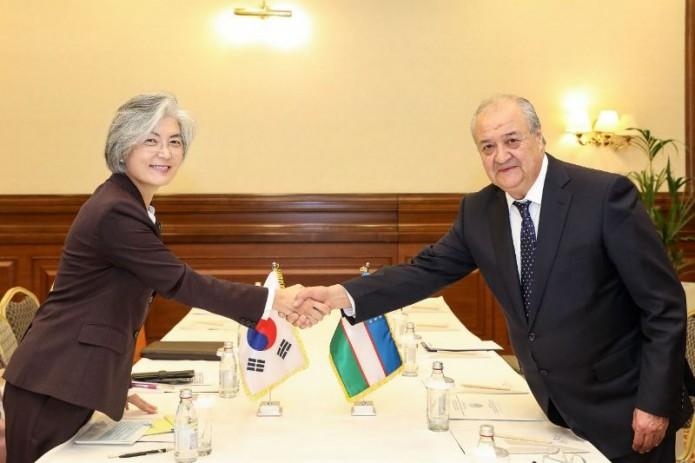 Главы МИД Узбекистана и Республики Корея провели встречу в Нур-Султане