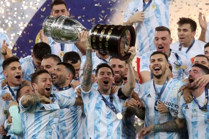 Сборная Аргентины обыграла Бразилию в финале Кубка Америки