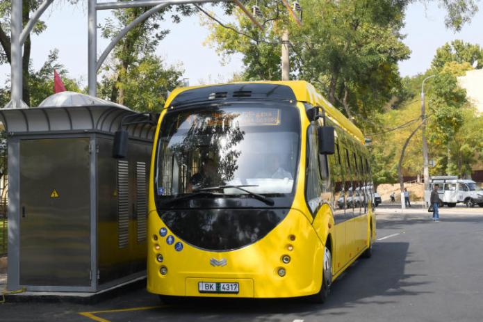 На столичных дорогах появятся электробусы за 3,2 млрд сумов