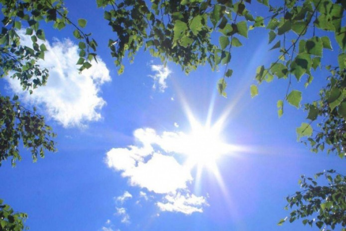 В выходные сохранится сухая и жаркая погода в пределах +36 градусов