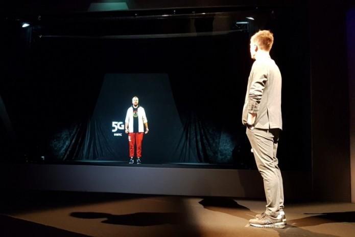 МТС и Huawei показали голографический видеозвонок по сети 5G