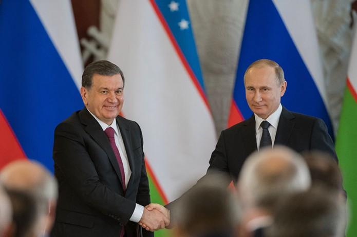 Шавкат Мирзиёев поздравил Владимира Путина с победой на президентских выборах