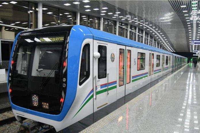 На продленной ветке Юнусабадской линии метро протестировали поезд