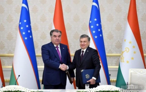 Узбекистан и Таджикистан стали стратегическими партнерами