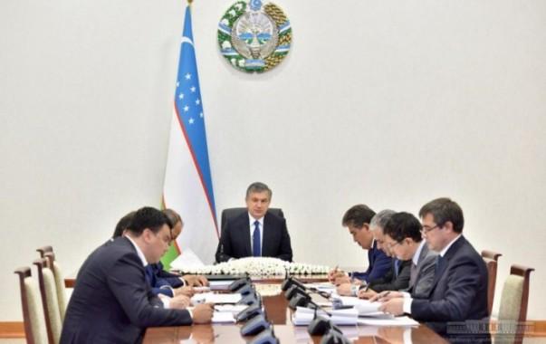 Президент обсудил вопросы привлечения прямых иностранных инвестиций