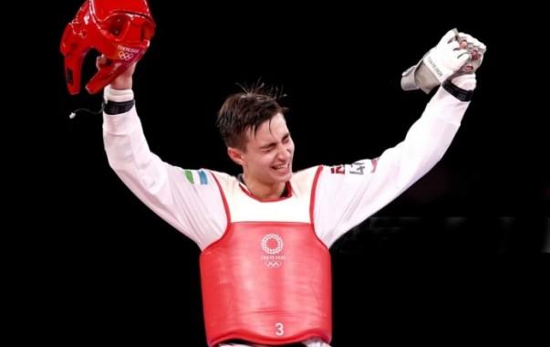 Токио-2020: Таэквондист Улугбек Рашитов завоевал золотую медаль