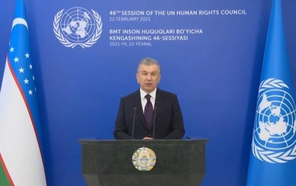 Шавкат Мирзиёев: Обеспечение прав и свобод человека будет занимать центральное место в реформировании Узбекистана
