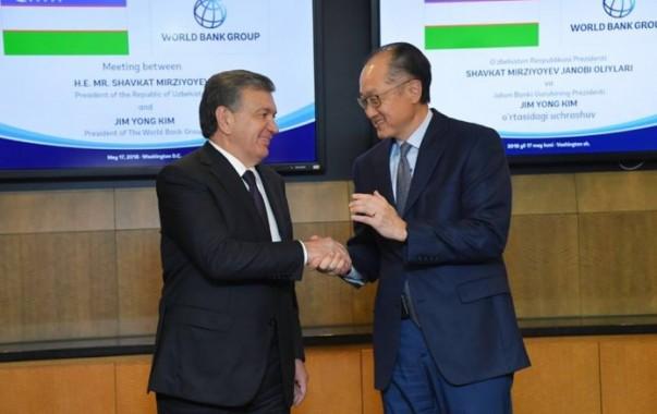 Узбекистан и Всемирный банк подписали кредитные соглашения на $940 млн.