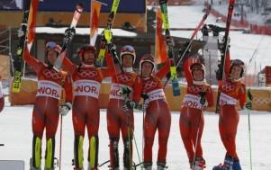 Сборная Норвегии обновила исторический рекорд на Олимпиаде