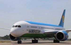"НАК ""Узбекистон хаво йуллари"" получила третий Boeing 787 Dreamliner"