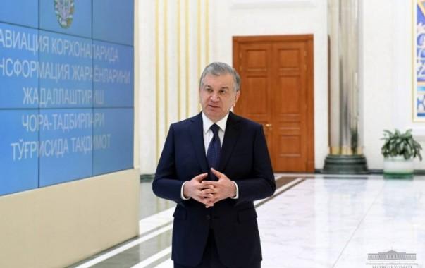 """Uzbekistan airways"" и ""Uzbekistan airports"" будут трансформированы"