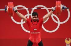 Токио-2020: Тяжелоатлет Акбар Джураев завоевал «золото» и установил олимпийский рекорд