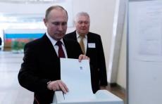 Все кандидаты проголосовали на выборах президента России