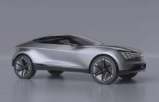 Kia представила футуристичный электрический кроссовер Futron Concept