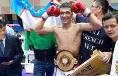Боксер Хусниддин Пулатов выиграл пояс WBA Asia