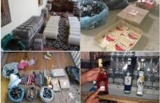 В Ургенче нашли подпольный цех по изготовлению алкогольной продукции