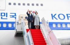Президент Республики Корея Мун Чжэ Ин прибыл в Ташкент
