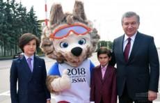 Президент Шавкат Мирзиёев прибыл в Москву