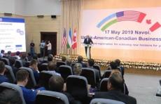 В Навои состоялся узбекско-американо-канадский бизнес-форум