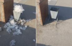 Мусор пандемии:  Ташкент заполонили использованные перчатки