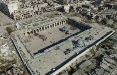 Разрушенные памятники культуры на Ближнем Востоке воссозданы с помощью дронов и технологий 3D  (Видео)