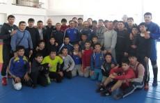 Борцы Казахстана проведут учебно-тренировочные сборы в Ташкенте