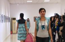 """Студенты института художеств и дизайна представили свои работы на выставке """"Формула моды"""""""