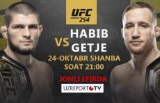 UZREPORT TV UFC 254 мусобақаси трансляция ҳуқуқини харид қилди