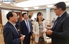 Азиз Абдухакимов встретился с президентом компании Land Master