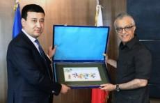 Президент ФФУ встретился с главой АФК в Куала-Лумпуре