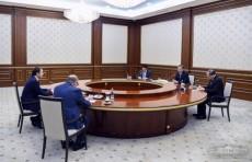 Президент Шавкат Мирзиёев принял главу Минэкономразвития РФ