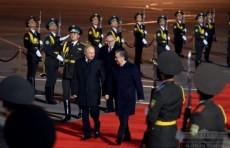 Владимир Путин прибыл в Узбекистан с государственным визитом