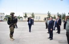 Президент посетил воинскую часть Восточного военного округа